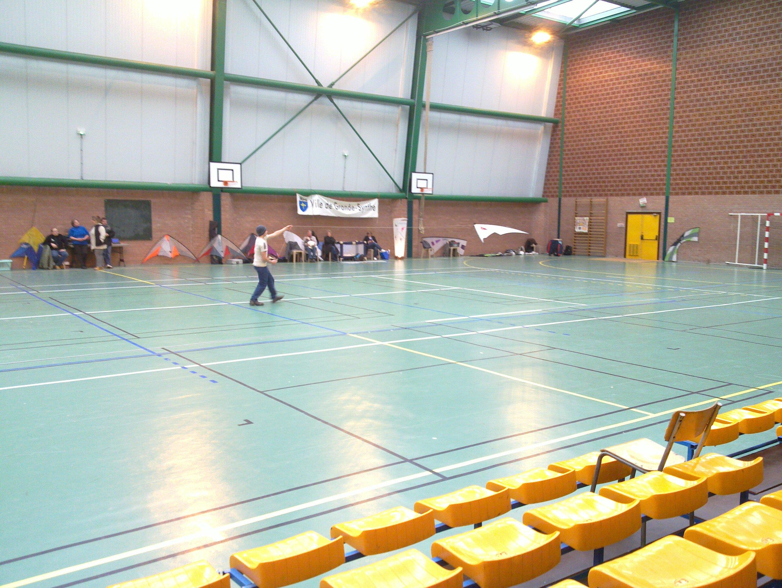 Festival de cerf-volant indoor Grande-Synthe 2013
